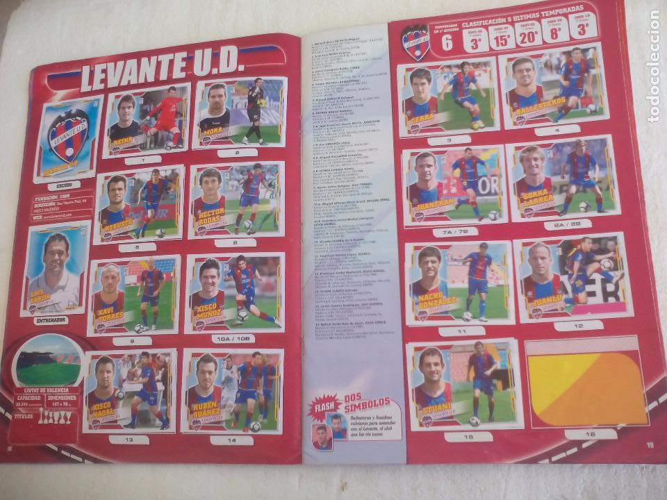 Coleccionismo deportivo: Album de Cromos Liga 2010 2011, Liga de Futbol, colecciones Este, Panini. Unos 300 cromos - Foto 9 - 92008840
