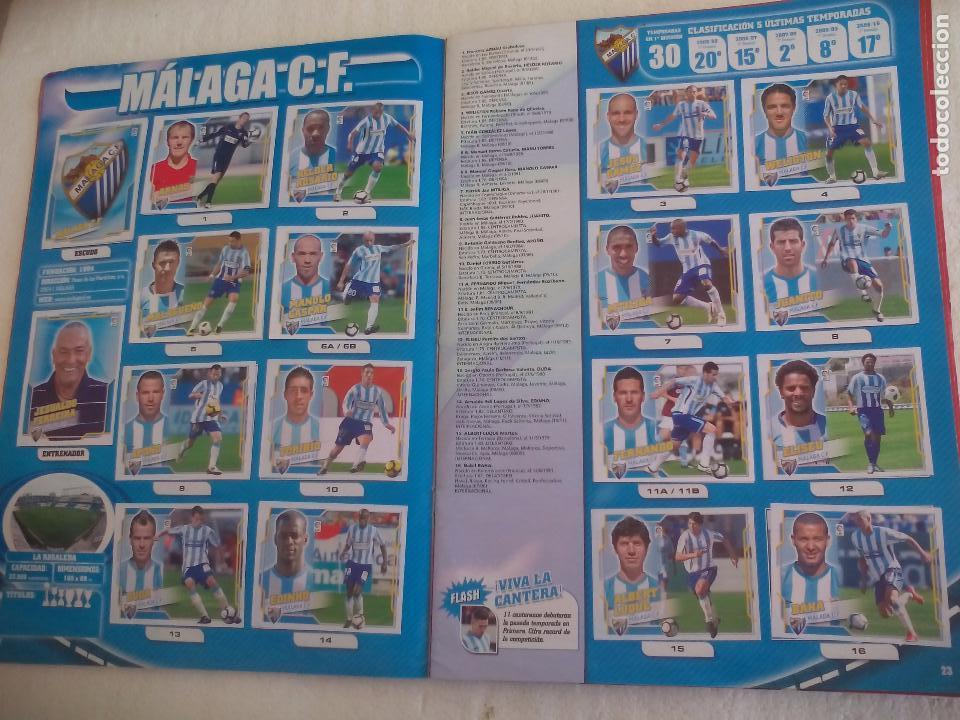 Coleccionismo deportivo: Album de Cromos Liga 2010 2011, Liga de Futbol, colecciones Este, Panini. Unos 300 cromos - Foto 11 - 92008840