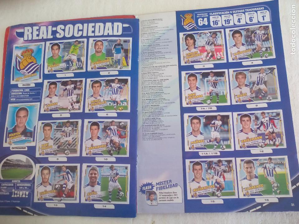 Coleccionismo deportivo: Album de Cromos Liga 2010 2011, Liga de Futbol, colecciones Este, Panini. Unos 300 cromos - Foto 17 - 92008840