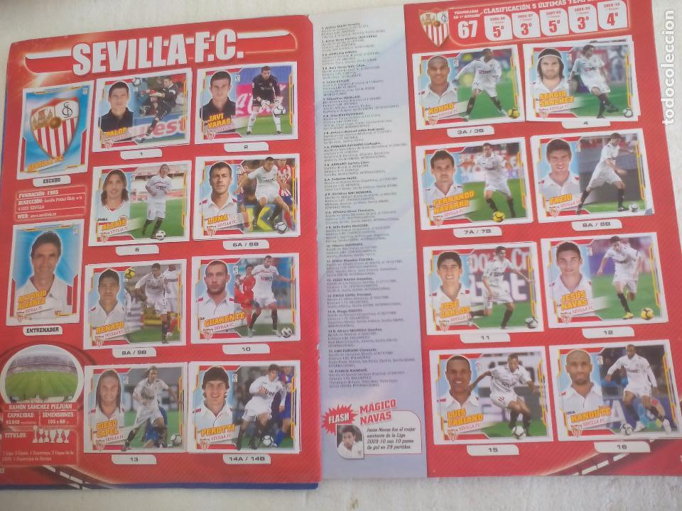 Coleccionismo deportivo: Album de Cromos Liga 2010 2011, Liga de Futbol, colecciones Este, Panini. Unos 300 cromos - Foto 18 - 92008840