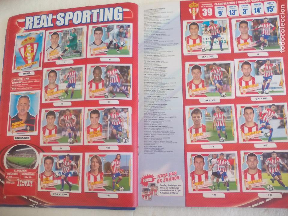 Coleccionismo deportivo: Album de Cromos Liga 2010 2011, Liga de Futbol, colecciones Este, Panini. Unos 300 cromos - Foto 19 - 92008840