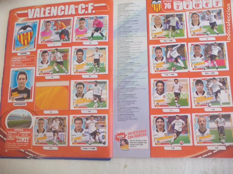 Coleccionismo deportivo: Album de Cromos Liga 2010 2011, Liga de Futbol, colecciones Este, Panini. Unos 300 cromos - Foto 20 - 92008840