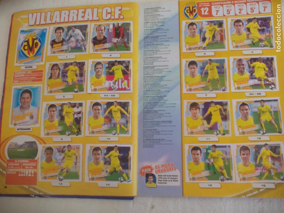 Coleccionismo deportivo: Album de Cromos Liga 2010 2011, Liga de Futbol, colecciones Este, Panini. Unos 300 cromos - Foto 21 - 92008840