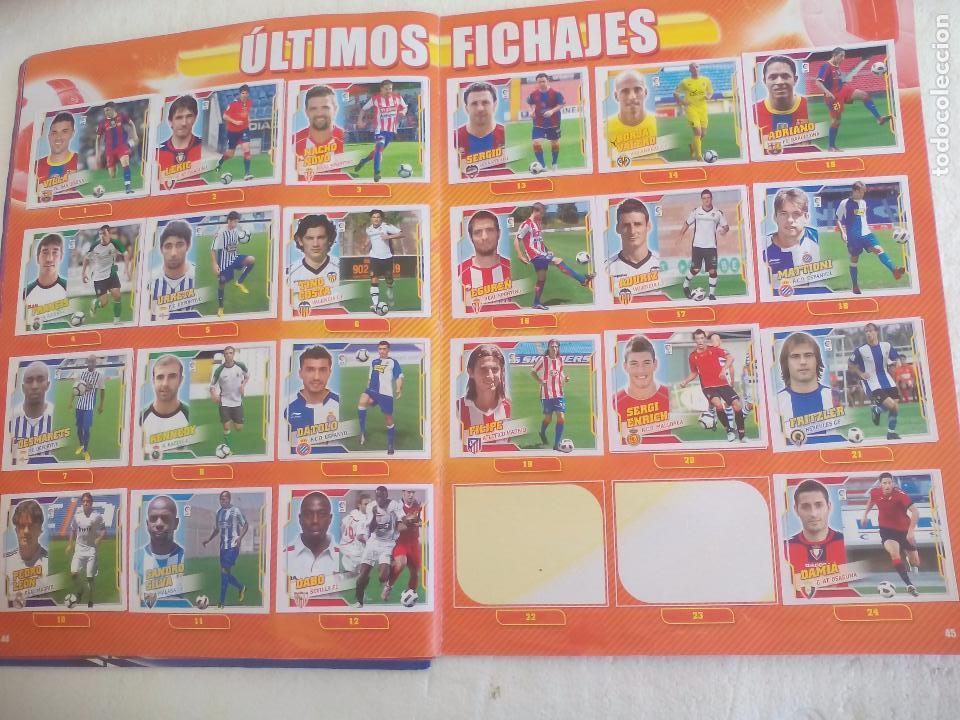 Coleccionismo deportivo: Album de Cromos Liga 2010 2011, Liga de Futbol, colecciones Este, Panini. Unos 300 cromos - Foto 24 - 92008840