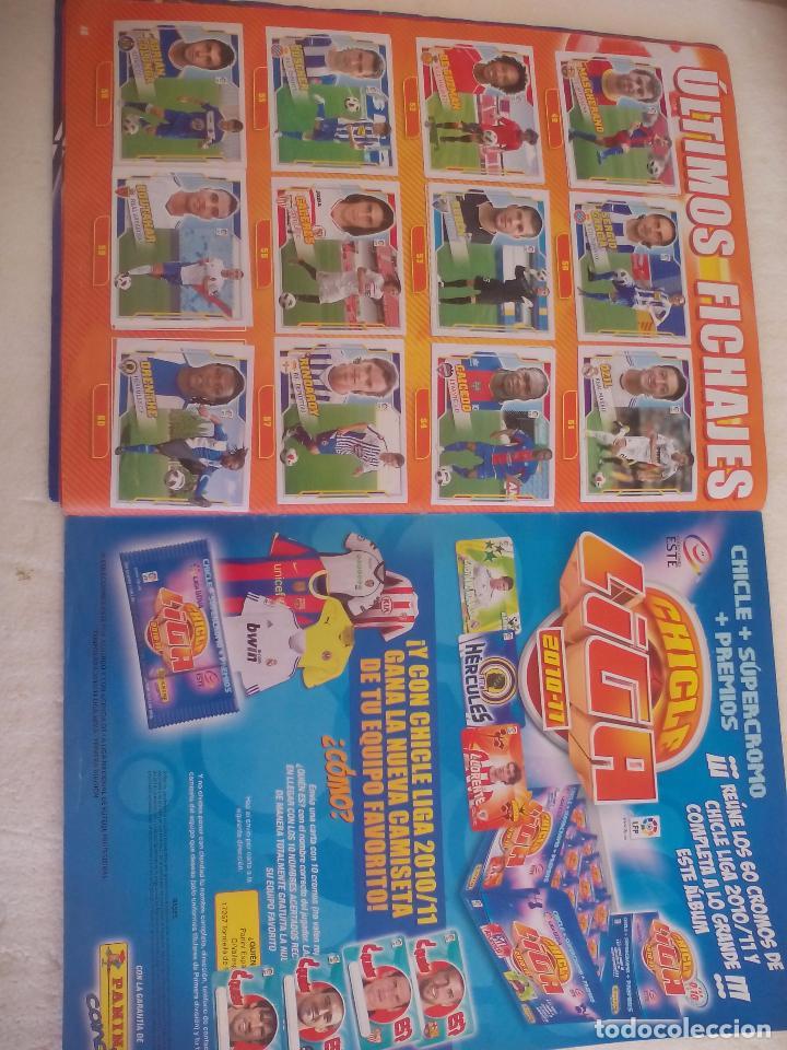 Coleccionismo deportivo: Album de Cromos Liga 2010 2011, Liga de Futbol, colecciones Este, Panini. Unos 300 cromos - Foto 26 - 92008840