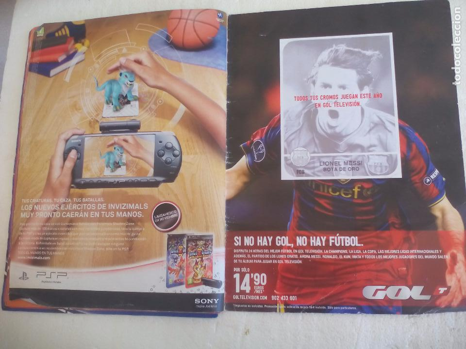 Coleccionismo deportivo: Album de Cromos Liga 2010 2011, Liga de Futbol, colecciones Este, Panini. Unos 300 cromos - Foto 28 - 92008840