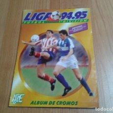Coleccionismo deportivo: ÁLBUM - 94/95 - ESTE - 439 CROMOS - COLOCAS BAJAS FICHAJES - EXCELENTE ESTADO - FOTOS TODO EL ÁLBUM. Lote 92034720