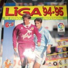 Coleccionismo deportivo: ALBUM CROMOS FUTBOL LIGA 94 95 - PANINI. Lote 93026180