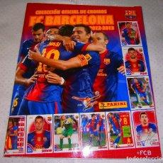 Coleccionismo deportivo: ALBUM INCOMPLETO DE CROMOS F.C. BARCELONA TEMPORADA 2012 / 2013 PANINI [FALTAN 12 CROMOS]. Lote 93201215