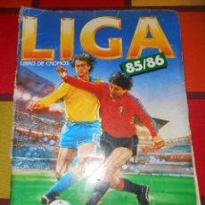 Coleccionismo deportivo: ÁLBUM LIGA 85/86 EDICIONES DEL ESTE. Lote 93294565
