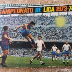 Coleccionismo deportivo: ALBUM FHER 73.74. COMPLETO. SIN PÓSTER CENTRAL. Lote 93348395