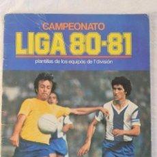 Coleccionismo deportivo: ALBUM CROMOS FUTBOL VACIO CAMPEONATO LIGA 80-81. Lote 97741835