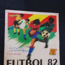 Coleccionismo deportivo: ALBUM DE CROMOS - FUTBOL 82 - - PANINI - . Lote 96862847