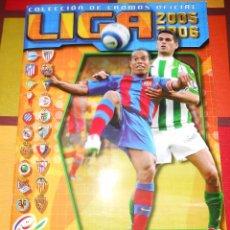 Coleccionismo deportivo: ÁLBUM LIGA 05/06 EDICIONES DEL ESTE.. Lote 93714610
