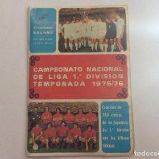 Coleccionismo deportivo: ÁLBUM CAMPEONATO NACIONAL DE LIGA 1 DIVISIÓN 1975/76 . Lote 94212940