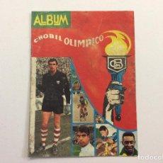 Coleccionismo deportivo: ÁLBUM CHOBIL OLÍMPICO VACÍO . Lote 94222115