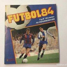 Coleccionismo deportivo: ÁLBUM FÚTBOL 84 + SOBRE VACÍO . Lote 94224125