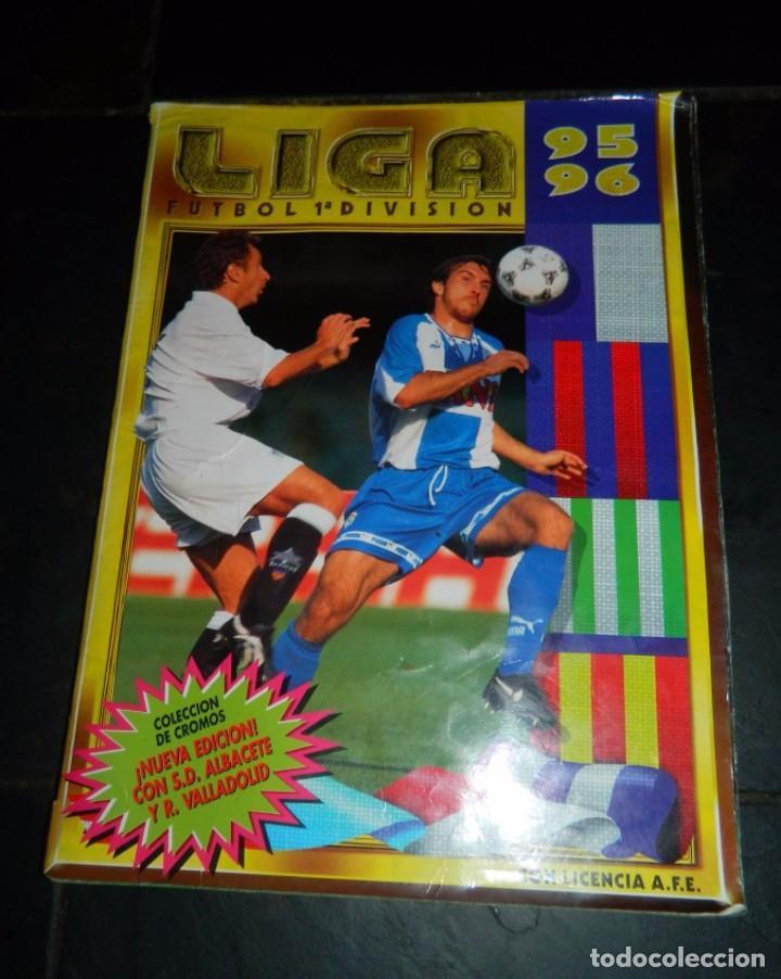 LIGA 95/96 EDIC. ESTE 1ª DIVISIÓN (Coleccionismo Deportivo - Álbumes y Cromos de Deportes - Álbumes de Fútbol Incompletos)