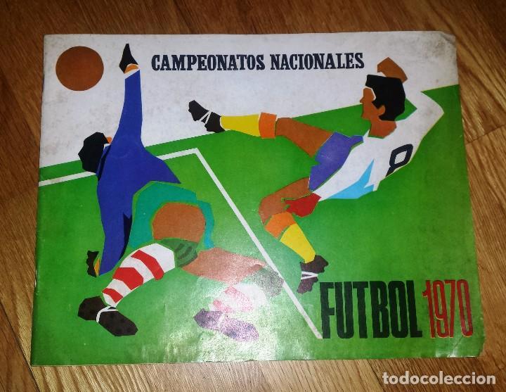 RUIZ ROMERO 1970 ALBUM VACIO SIN CROMOS. LIGA FUTBOL 1969 - 1970 (Coleccionismo Deportivo - Álbumes y Cromos de Deportes - Álbumes de Fútbol Incompletos)
