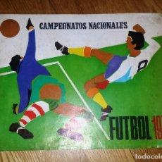 Coleccionismo deportivo: RUIZ ROMERO 1970 ALBUM VACIO SIN CROMOS. LIGA FUTBOL 1969 - 1970. Lote 94781915