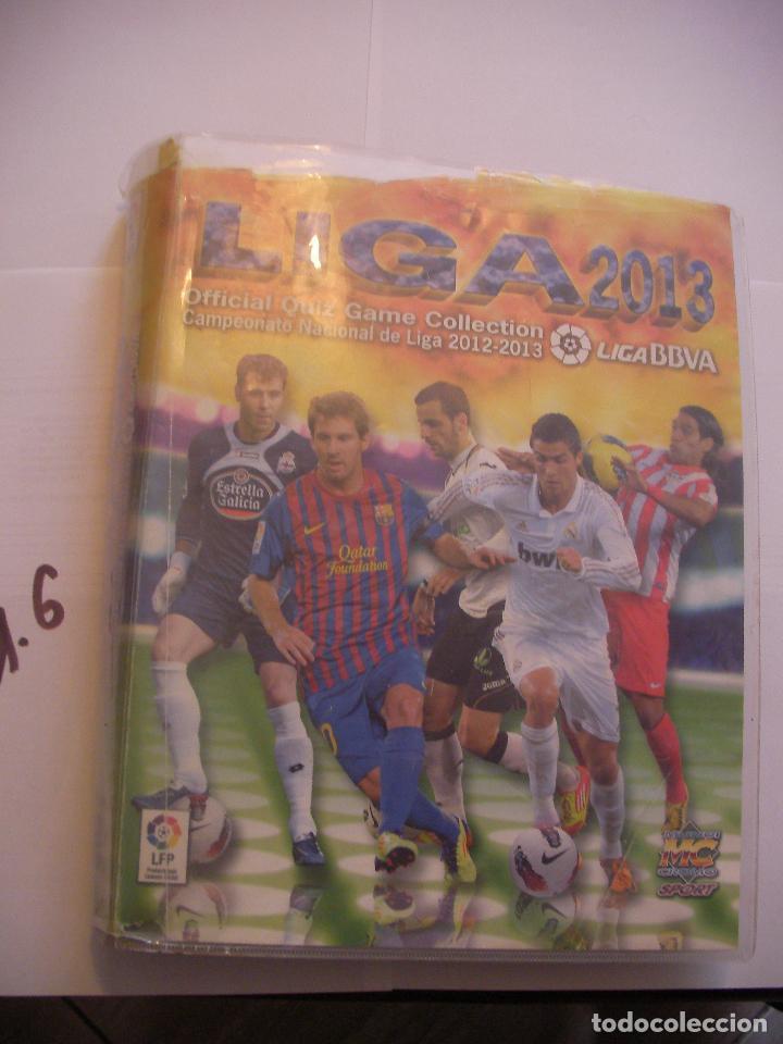 ALBUM LIGA FUTBOL 2012-2013 (Coleccionismo Deportivo - Álbumes y Cromos de Deportes - Álbumes de Fútbol Incompletos)