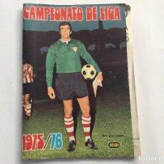 Coleccionismo deportivo: ÁLBUM CAMPEONATO DE LIGA 1975/76 DISGRA + SOBRE VACÍO . Lote 94853091
