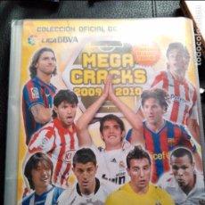 Coleccionismo deportivo: ALBUM MEGA CRACKS 2009-2010 CON 178 CROMOS CARDS. Lote 94991191