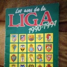 Coleccionismo deportivo: ALBUM LOS ASES DE LA LIGA 90 91 1990 1991 DIARIO AS . Lote 95033091
