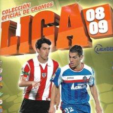 Coleccionismo deportivo: ALBUM DE LA LIGA 2008/09 CON 289 CROMOS. Lote 95255083