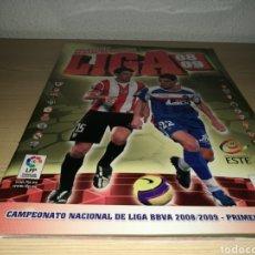 Coleccionismo deportivo: ALBUM DE LA LIGA ESPAÑOLA DE FÚTBOL. ESTE. TEMPORADA 2008-09. CON 40 CROMOS. Lote 95497622