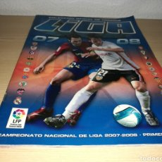 Coleccionismo deportivo: ÁLBUM DE FÚTBOL DE LA LIGA ESPAÑOLA. ESTE. TEMPORADA 2007-08. CON 45 CROMOS. Lote 132690067