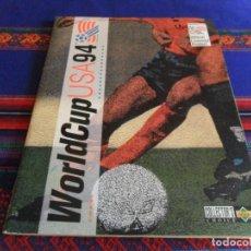 Coleccionismo deportivo: WORLD CUP USA 94 1994 UPPER DECK INCOMPLETO FALTAN 13 CROMOS. REGALO EURO 2008 AUSTRIA SUIZA PANINI.. Lote 95660383