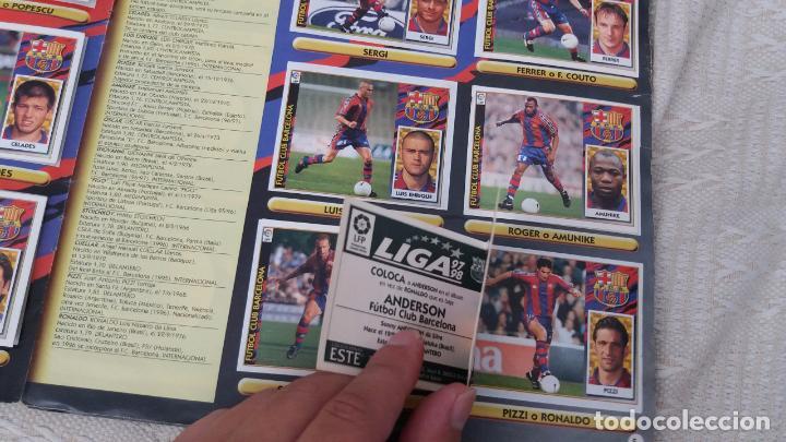 Coleccionismo deportivo: 97/98 ESTE. Album muy completo coloca fichaje baja dobles. Leer DESCRIPCIÓN - Foto 6 - 95732739