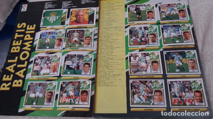 Coleccionismo deportivo: 97/98 ESTE. Album muy completo coloca fichaje baja dobles. Leer DESCRIPCIÓN - Foto 7 - 95732739