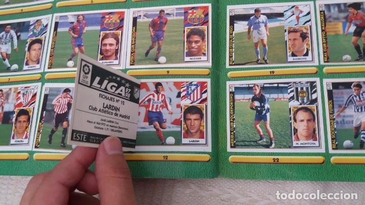 Coleccionismo deportivo: 97/98 ESTE. Album muy completo coloca fichaje baja dobles. Leer DESCRIPCIÓN - Foto 19 - 95732739