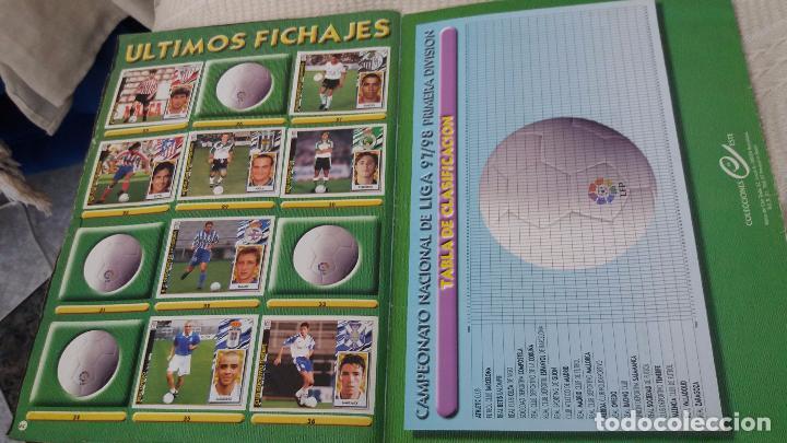 Coleccionismo deportivo: 97/98 ESTE. Album muy completo coloca fichaje baja dobles. Leer DESCRIPCIÓN - Foto 21 - 95732739
