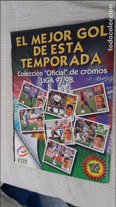 Coleccionismo deportivo: 97/98 ESTE. Album muy completo coloca fichaje baja dobles. Leer DESCRIPCIÓN - Foto 22 - 95732739