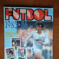 Coleccionismo deportivo: ALBUM LIGA LISEL FUTBOL 85-86 CASI COMPLETO 1985-1986 CON 44 DOBLES Y 1 FICHAJE. Lote 96178019