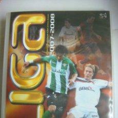 Coleccionismo deportivo: ALBUN VACIO DE FUTBOL LIGA 2007-2008 COLECCION OFICIAL DE TRADING-CARDS (#). Lote 96401475