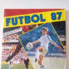 Coleccionismo deportivo: FUTBOL 87 ALBUM CROMOS PANINI. Lote 96415343