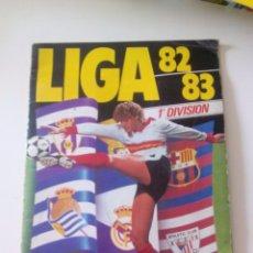 Coleccionismo deportivo: ÁLBUM CROMOS INCOMPLETO LIGA 82 83. Lote 96416907