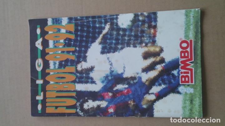 ÀLBUM CROMOS BIMBO LIGA FUTBOL91-92, INCOMPLETO (Coleccionismo Deportivo - Álbumes y Cromos de Deportes - Álbumes de Fútbol Incompletos)