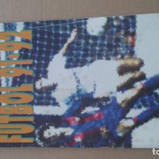 Coleccionismo deportivo: ÀLBUM CROMOS BIMBO LIGA FUTBOL91-92, INCOMPLETO. Lote 96480663