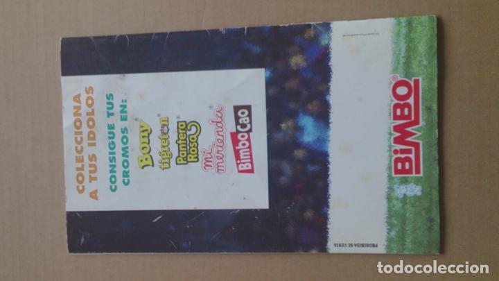 Coleccionismo deportivo: ÀLBUM CROMOS BIMBO LIGA FUTBOL91-92, INCOMPLETO - Foto 2 - 96480663