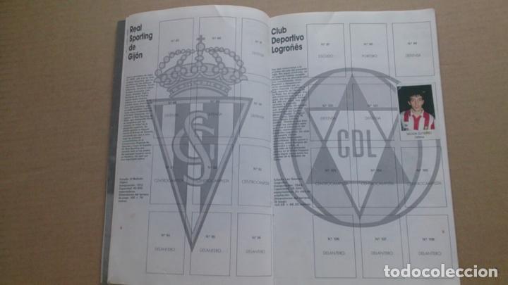 Coleccionismo deportivo: ÀLBUM CROMOS BIMBO LIGA FUTBOL91-92, INCOMPLETO - Foto 4 - 96480663