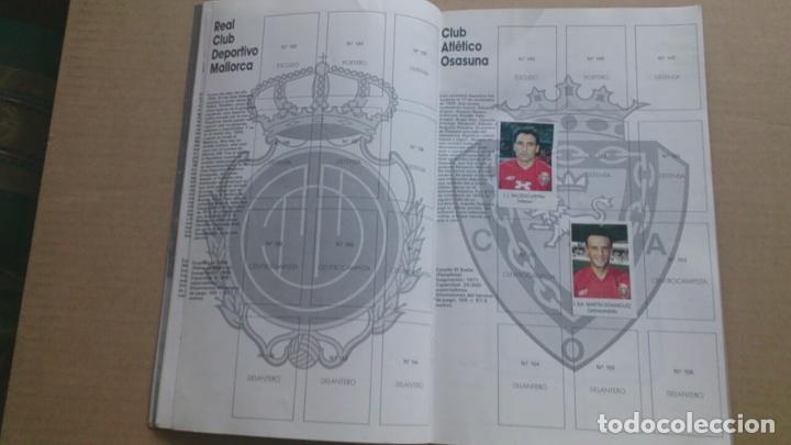 Coleccionismo deportivo: ÀLBUM CROMOS BIMBO LIGA FUTBOL91-92, INCOMPLETO - Foto 6 - 96480663