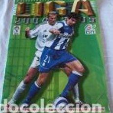 Coleccionismo deportivo: ALBUM LIGA 2004/2005 INCOMPLETO. Lote 96611475