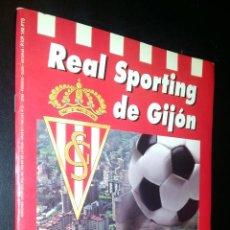 Coleccionismo deportivo: REAL SPORTING DE GIJON SU HISTORIA EN CROMOS / FALTAN 33 DE 360. Lote 104401927