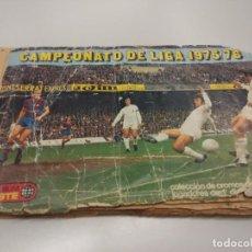 Coleccionismo deportivo: ALBUM DE CROMOS ED. ESTE 75-76 CON 270 CROMOS 2 FICHAJES. Lote 96798291
