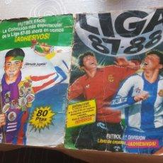 Coleccionismo deportivo: POTADAS ALBUM LIGA ESTE 87 88 1987 1988 TAPAS. Lote 96869130